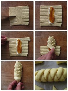 Danish braid  HOW TO.  this page teaches you the tricks ;)