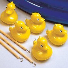 Series of sidestalls, hook a duck