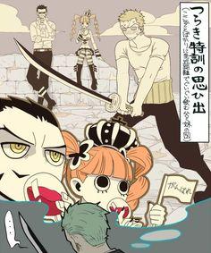 Dracule Mihowk Hawkeye Pirate Hunter Roronoa Zoro Gnost Princess Perona One Piece