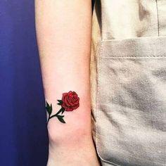 tattoo rosa pequena - Pesquisa Google