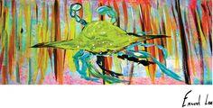 Ernest Lee Tees - Coastal Crazy Crab, $19.99 (http://www.ernestleetees.com/coastal-crazy-crab/)