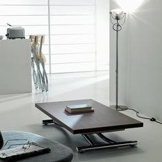 Découvrez la table basse relevable et variable en hauteur Mondial qui va vous permettre d'optimiser vos espaces. Facile d'utilisation. http://www.rangeocean.fr/nos-produits/table-multi-positions/table-basse-relevable-mondial-ozzio.html