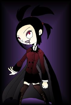 Real Vampires | Mona the real vampire by *toongrowner on deviantART