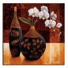 Tangletown Fine Art Orquedea Linda I by Keith Mallett Gallery Wrap Canvas Art printed on heavy museum grade canvas by As Shown Decoupage, Afrique Art, Pottery Painting, Bottle Art, Art Floral, Art Plastique, Stretched Canvas Prints, Botanical Art, Creative Art