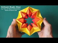 how to make craft paper origami magic ball step by step diy tutorial instructions how to how