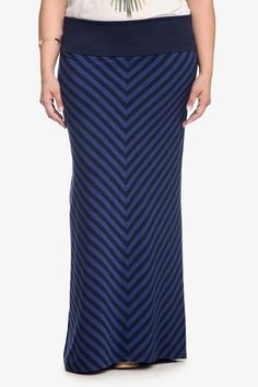 LOVE this mitered stripe maxi. #spring #musthave