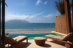 Many of the villas at Six Senses Con Dao are only steps from the beach, and each enjoy a private pool.