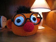 DORMANT: Muppet Glasses Holder Crochetalong (pattern in 1st post) - CROCHET