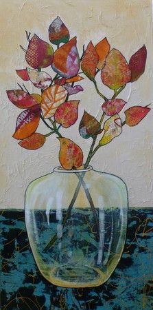 Reminders of Autumn - Linda Bell   Collage Artist