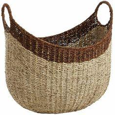 "Loft Oval Basket$47 19.5"" width 15.5"" length"