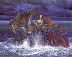 A Woman Rides the Beast: Video expose on the harlot church examined in the book of Revelation. Beast Of Revelation, Revelation 17, The Beast, Babylon Bible, Wicca, Caim E Abel, Babylon The Great, Queen Of Heaven, 1st Century