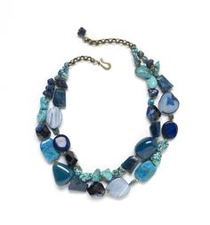 Naomi knows: Designing with blue gemstones | BeadStyleMag.com