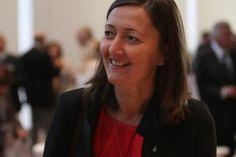 Karine Berger, députée solférinienne des Hautes-Alpes, secrétaire nationale du Parti S Libéral.  Son prochain poste est garanti!