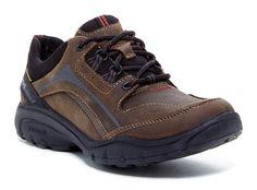 CLARKS Wave Venture Lace-Up Shoes Men's US 11.5 M(D),Brown Oily MSRP $140.00 #Rockport #LaceUpShoes