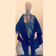 New in #aw14 #sofiedhoore and @cathsbelgium in store now! Featuring the amazing caleche stole jacket in navy, brumal T shape tunic in thyme and the Palmer jeans in rinsed! Accessorised with a @cathsbelgium 3 row rectangle necklace in grey. #fashion #epitome #ootd #outfitoftheday #style