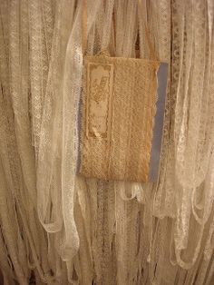 French Valenciennes (bobbin) Lace Laundry by therusticvictorian, via Flickr