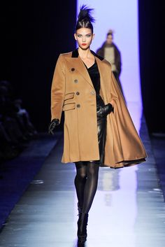 Jean Paul Gaultier Fall 2011 Couture Fashion Show - Karlie Kloss (IMG)