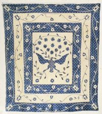 "1825 - 1840 Susan Strong's ""Great Seal"" Quilt~I  Own  A  Reproduction  Of  This  Quilt~~LOVE IT-Saw The Original At The Smithsonian~"