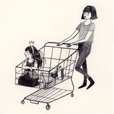 Mommy and Daughter Royal Shopping