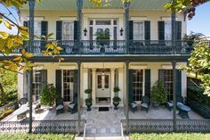 New Orlean's homes in the French Quarter and Garden District owned by Nicolas Cage New Orleans Homes, New Orleans Louisiana, Louisiana Homes, Exterior Design, Interior And Exterior, Exterior Homes, Stucco Homes, Puerto Rico, New Orleans Architecture