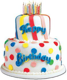 Resultado de imagen de pastel de cumpleaños feliç aniversari