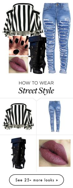 """""""#1403 Street Style"""" by arasshjit on Polyvore featuring Milly"""