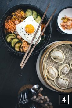 Bibimbap in a korean restaurant Yamyam Berlin