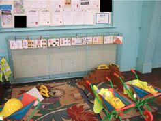 Builders' Yard role-play area classroom display photo - SparkleBox