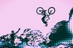 Bike Art - Mountain Bike Art - Mountain Bike prints - Digital art - Cyclist gift - Mountain Bike Art - gift for boys - modern art - graphic design - blotter art - photography -Extreme sports - extreme mountain biking - cool bike photo  -digital art - bike - mountain biking - BMX - X Games - Freeride MTB - dirt jump photos - Mountain bike photos - Mountain Bike posters - Bike prints - Men's gift ideas - Boy birthday gift ideas - Gift for cyclists - Bicycle Art - Bike back flip