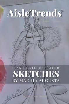 One of my favorite fashion illustrators is @marhiagus_illustrator. Her style is beautiful and simple, no color just crisp pencil sketches and minimal styling so the beauty of her sketches is unhindered. Love ❤️! Blissed Out, 💙Dani Simone 📌Check out my other #bridaltrend reports by searching By Dani Simone! You can also help me pin by sending a request 💕 #bridalgowns #couturebridal #trendspotting #aisletrends #bridalstyle #weddinggoals #dreamweddingdress #weddingdresses #weddingdress #wedd Wedding Dress Illustrations, Wedding Dress Sketches, Dream Wedding Dresses, Fashion Design Sketchbook, Fashion Sketches, Fashion Figure Drawing, Fashion Figures, Wedding Goals, Bridal Style