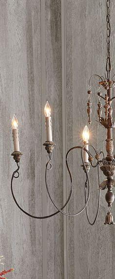 Lighting   Rustic Elegant Chandelier