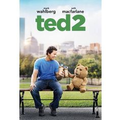 """Sequel to the 2012 film Ted directed by Seth MacFarlane.In an 2012 interview with Collider, Mark Wahlberg raved about Ted 2 saying, """"Seth's ideas for the second one are sick. Films Hd, Comedy Movies, Hd Movies, Watch Movies, Movies Free, Rent Movies, Free Films, Tv Watch, Cinema Movies"""