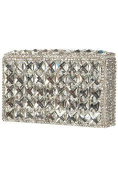 Topshop Diamanté Box Clutch. I need it in my life! It will make a great Christmas season staple...