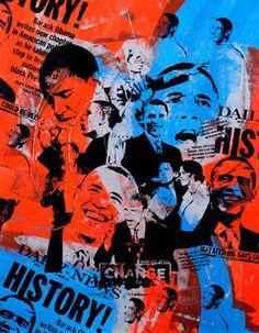 History Art Print by Bobby Hill