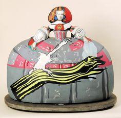 Equipo Cronica - Menina. Ceramic sculpture