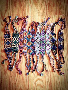 Giant friendship bracelets
