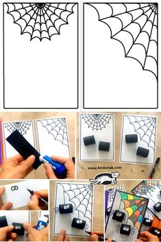 children activities, more than 2000 coloring pages Halloween Crafts For Kids, Diy Crafts For Kids, Halloween Diy, School Decorations, Diy Halloween Decorations, Printable Halloween, Halloween Kunst, Easy Art For Kids, Teacher Christmas Gifts