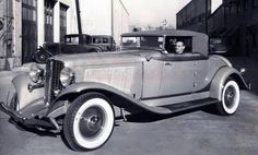 """What does """"The Mayor of Hell"""" drive? James Cagney, pictured at the wheel of the 1934 Auburn Salon Cabriolet, used in filming """"The Mayor of Hell"""" (1933). The car was recently fully restored and sold at auction."""