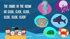 Animals In The Ocean Song Lyrics for Kids | Animals Songs for Preschoolers