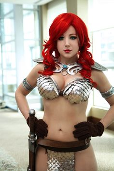 Cosplay goddess Nicole Marie Jean as Red Sonja! - 11 Red Sonja Cosplays