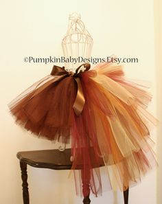 Turkey Bustle Tutu