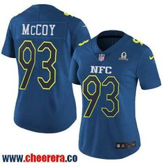 Women's Tampa Bay Buccaneers #93 Gerald McCoy Navy Blue NFC 2017 Pro Bowl Stitched NFL Nike Game Jersey
