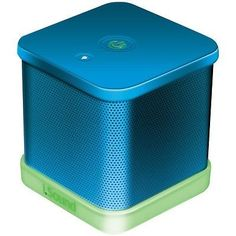 ISOUND-ISOUND-6206-iGlowSound-Cube-Wired-Portable-Speaker-Blue