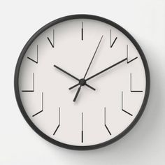 Now Thatu0027s What You Call A Creative Design! What Makes The Clock Hands Wall  Clock
