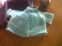 A beautiful Baby Girls hand knitted short sleeved  by Naincrafts,