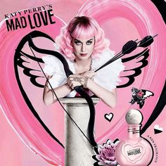 """Katy Perry's Mad Love promotional poster. MEANT TO FUCK WITH TAYLOR SWIFT!!! hahahahah!  """