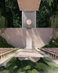 "INTERIOR PORN on Twitter: ""This dreamscape is perfect 🥰… "" Architecture Design Concept, Minimalist Architecture, Organic Architecture, Residential Architecture, Landscape Architecture, Interior Architecture, Futuristic Interior, Futuristic Architecture, Amazing Architecture"