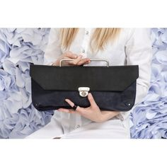 Pick of the day - Jimi Blue clutch bag by Ellen Ruben (about 226 euro) Unique shape and perfect execution. Hand made leather item with so much soul and attitude. Pure love. Simple as this. Your Sec...