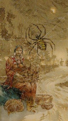 Queen of Swords - Native American Tarot by Laura Tuan, Sergio Tisselli