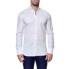 Contemporary Fit Long Sleeve Sport Shirt